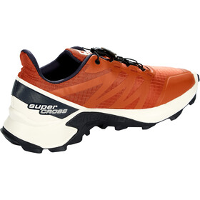 Salomon Supercross Schoenen Heren, burnt brick/vanilla ice/india ink